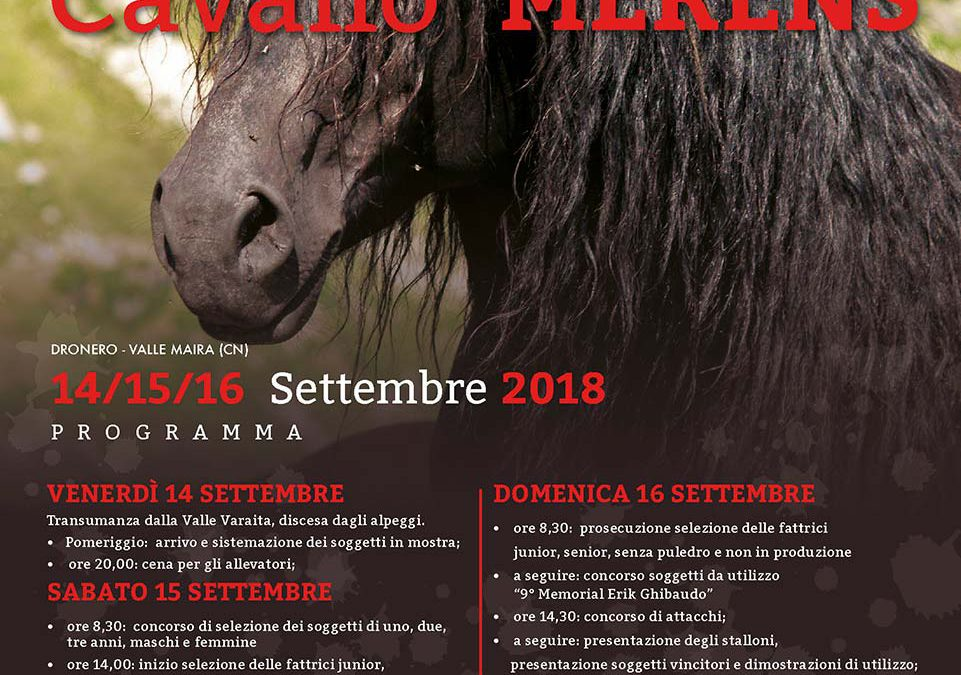 Mostra del Cavallo di Merens 2018